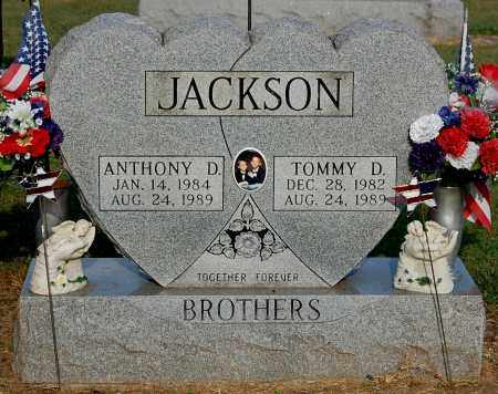 JACKSON, ANTHONY D - Gallia County, Ohio | ANTHONY D JACKSON - Ohio Gravestone Photos