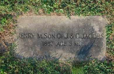 JACOBS, HENRY M - Gallia County, Ohio   HENRY M JACOBS - Ohio Gravestone Photos