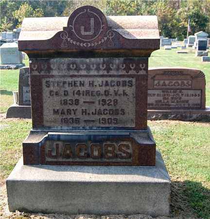 JACOBS, STEPHEN H - Gallia County, Ohio | STEPHEN H JACOBS - Ohio Gravestone Photos
