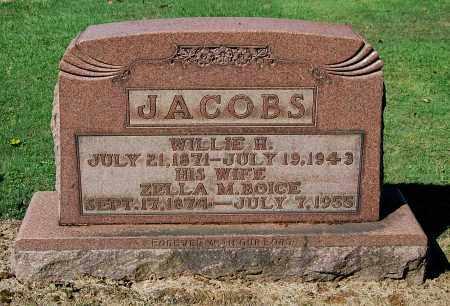 JACOBS, WILLIE H - Gallia County, Ohio | WILLIE H JACOBS - Ohio Gravestone Photos