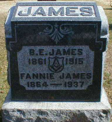 JAMES, FANNIE - Gallia County, Ohio | FANNIE JAMES - Ohio Gravestone Photos