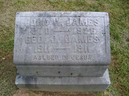 JAMES, JOHN - Gallia County, Ohio | JOHN JAMES - Ohio Gravestone Photos