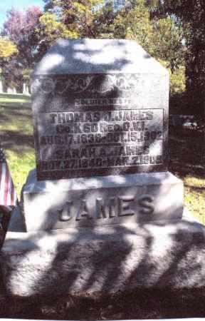 JAMES, SARAH A. - Gallia County, Ohio | SARAH A. JAMES - Ohio Gravestone Photos