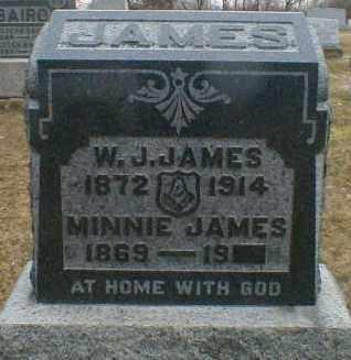 JAMES, W. - Gallia County, Ohio | W. JAMES - Ohio Gravestone Photos
