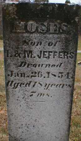 JEFFERS, MOSES - Gallia County, Ohio   MOSES JEFFERS - Ohio Gravestone Photos