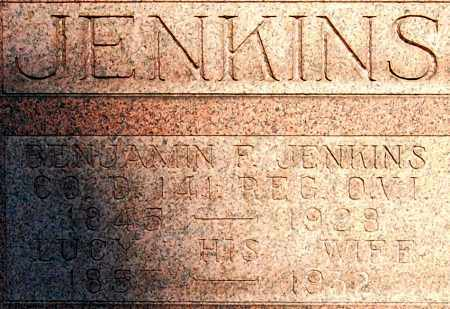 JENKINS, LUCY (CLOSE-UP) - Gallia County, Ohio | LUCY (CLOSE-UP) JENKINS - Ohio Gravestone Photos