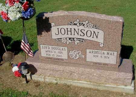 JOHNSON, LOYD D - Gallia County, Ohio   LOYD D JOHNSON - Ohio Gravestone Photos