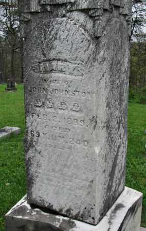 JOHNSTON, MARY - Gallia County, Ohio | MARY JOHNSTON - Ohio Gravestone Photos