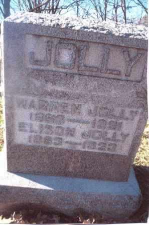 JOLLY, ELISON - Gallia County, Ohio | ELISON JOLLY - Ohio Gravestone Photos