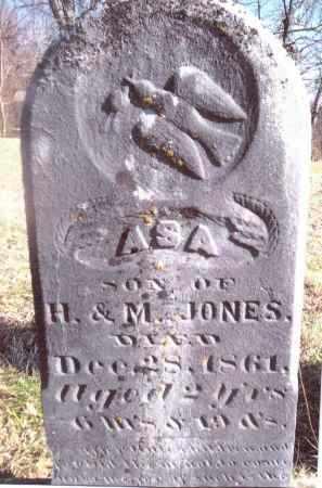 JONES, ASA - Gallia County, Ohio | ASA JONES - Ohio Gravestone Photos