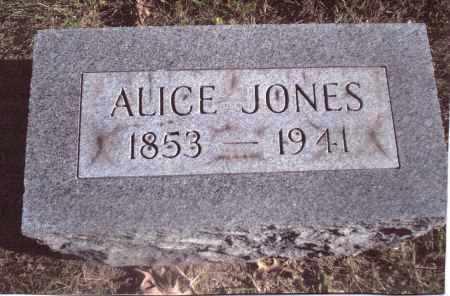 JONES, ALICE - Gallia County, Ohio | ALICE JONES - Ohio Gravestone Photos