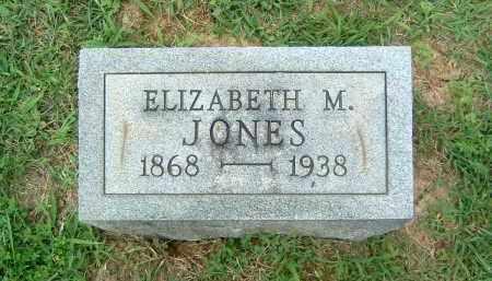 JONES, ELIZABETH M. - Gallia County, Ohio | ELIZABETH M. JONES - Ohio Gravestone Photos