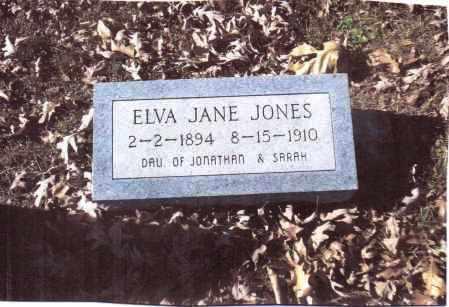 JONES, ELVA JANE - Gallia County, Ohio | ELVA JANE JONES - Ohio Gravestone Photos