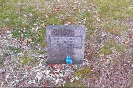 JONES, FRANK H. - Gallia County, Ohio | FRANK H. JONES - Ohio Gravestone Photos