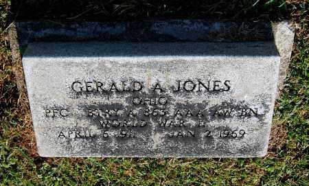 JONES, GERALD A - Gallia County, Ohio | GERALD A JONES - Ohio Gravestone Photos