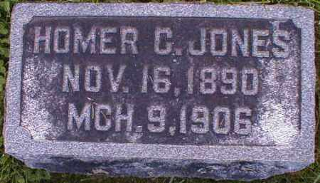 JONES, HOMER - Gallia County, Ohio | HOMER JONES - Ohio Gravestone Photos