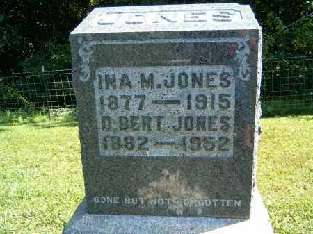 JONES, INA M. - Gallia County, Ohio   INA M. JONES - Ohio Gravestone Photos