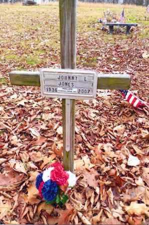 JONES, JOHNNY L. - Gallia County, Ohio | JOHNNY L. JONES - Ohio Gravestone Photos