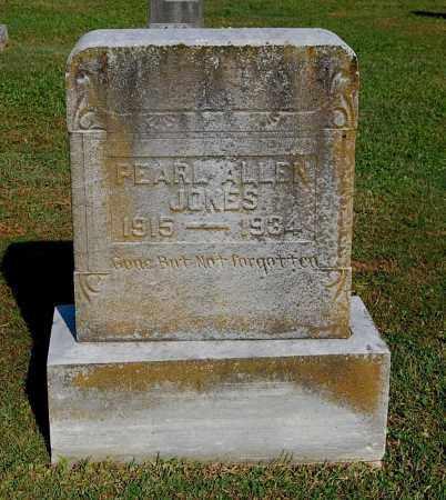 JONES, PEARL ALLEN - Gallia County, Ohio | PEARL ALLEN JONES - Ohio Gravestone Photos