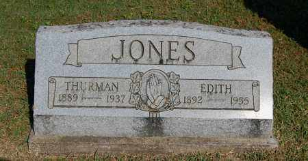JONES, THURMAN - Gallia County, Ohio | THURMAN JONES - Ohio Gravestone Photos