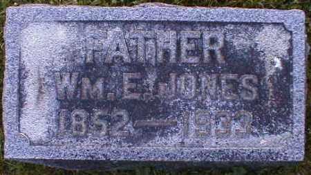JONES, WILLIAM - Gallia County, Ohio   WILLIAM JONES - Ohio Gravestone Photos