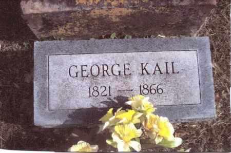 KAIL, GEORGE - Gallia County, Ohio | GEORGE KAIL - Ohio Gravestone Photos