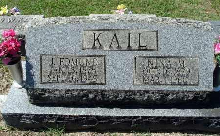 KAIL, NINA M - Gallia County, Ohio | NINA M KAIL - Ohio Gravestone Photos