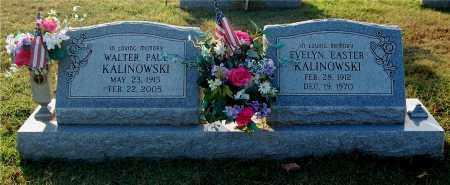 EASTER KALINOWSKI, EVELYN - Gallia County, Ohio | EVELYN EASTER KALINOWSKI - Ohio Gravestone Photos