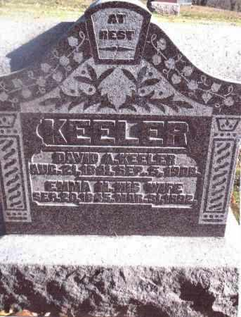 KEELER, EMMA M. - Gallia County, Ohio | EMMA M. KEELER - Ohio Gravestone Photos
