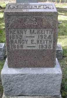 KEITH, NANCY E. - Gallia County, Ohio | NANCY E. KEITH - Ohio Gravestone Photos