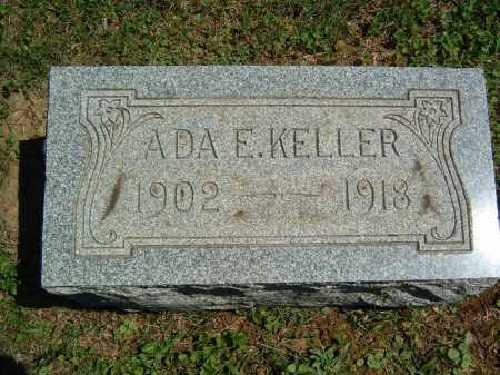 KELLER, ADA E. - Gallia County, Ohio | ADA E. KELLER - Ohio Gravestone Photos