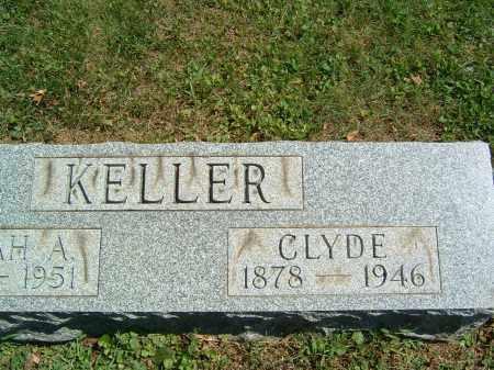 KELLER, CLYDE - Gallia County, Ohio   CLYDE KELLER - Ohio Gravestone Photos