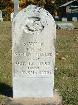 KELLER, MARY E. - Gallia County, Ohio | MARY E. KELLER - Ohio Gravestone Photos
