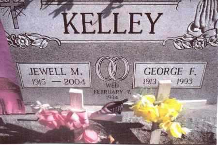 KELLEY, GEORGE F. - Gallia County, Ohio | GEORGE F. KELLEY - Ohio Gravestone Photos