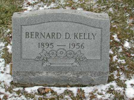 KELLY, BERNARD D. - Gallia County, Ohio | BERNARD D. KELLY - Ohio Gravestone Photos
