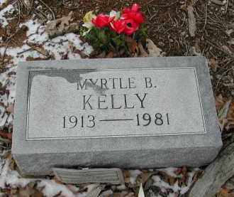 KELLY, MYRTLE - Gallia County, Ohio   MYRTLE KELLY - Ohio Gravestone Photos