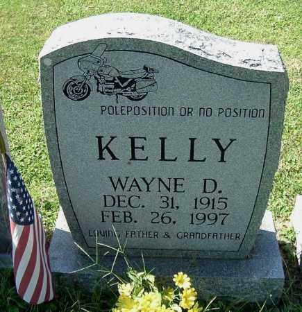 KELLY, WAYNE D - Gallia County, Ohio | WAYNE D KELLY - Ohio Gravestone Photos