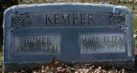 KEMPER, MARY - Gallia County, Ohio | MARY KEMPER - Ohio Gravestone Photos