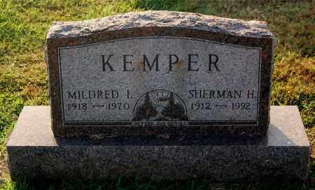 KEMPER, MILDRED - Gallia County, Ohio   MILDRED KEMPER - Ohio Gravestone Photos