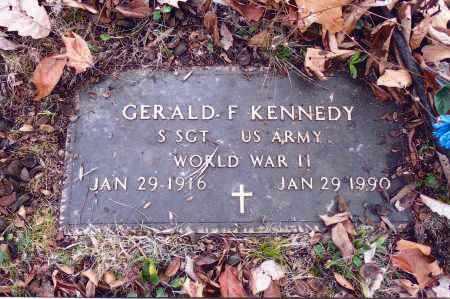 KENNEDY, GERALD F. - Gallia County, Ohio   GERALD F. KENNEDY - Ohio Gravestone Photos