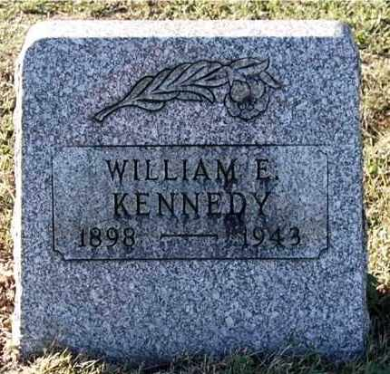 KENNEDY, WILLIAM E - Gallia County, Ohio | WILLIAM E KENNEDY - Ohio Gravestone Photos
