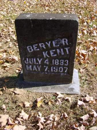 KENT, BERYL - Gallia County, Ohio | BERYL KENT - Ohio Gravestone Photos