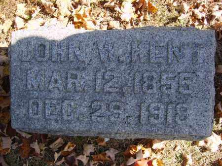 KENT, JOHN - Gallia County, Ohio | JOHN KENT - Ohio Gravestone Photos