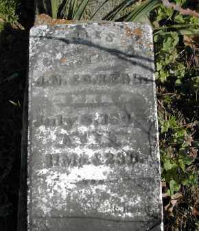 KERR, CHARLES W. - Gallia County, Ohio   CHARLES W. KERR - Ohio Gravestone Photos