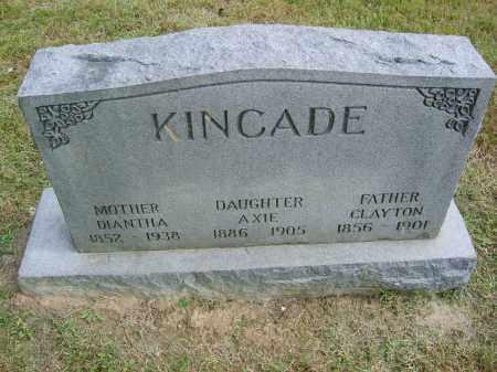KINCADE, CLAYTON - Gallia County, Ohio | CLAYTON KINCADE - Ohio Gravestone Photos
