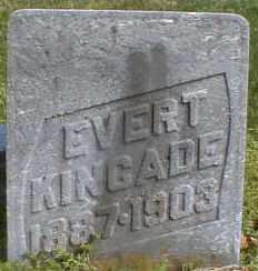 KINCADE, EVERT - Gallia County, Ohio   EVERT KINCADE - Ohio Gravestone Photos