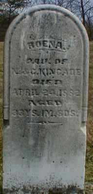 KINCADE, ROENA - Gallia County, Ohio   ROENA KINCADE - Ohio Gravestone Photos