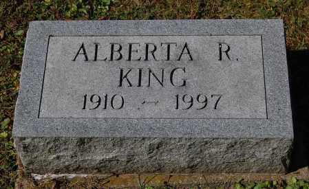 KING, ALBERTA R - Gallia County, Ohio | ALBERTA R KING - Ohio Gravestone Photos