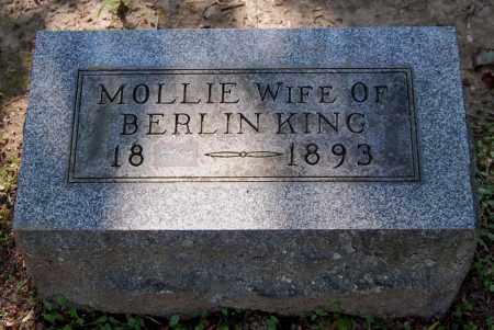 KING, MOLLIE - Gallia County, Ohio | MOLLIE KING - Ohio Gravestone Photos