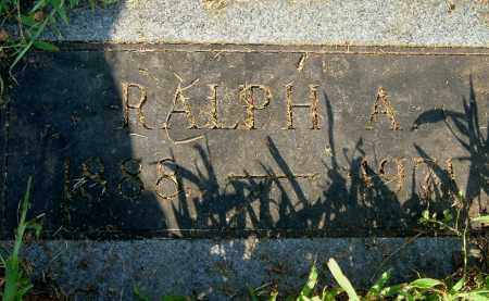 KING, RALPH A - Gallia County, Ohio | RALPH A KING - Ohio Gravestone Photos